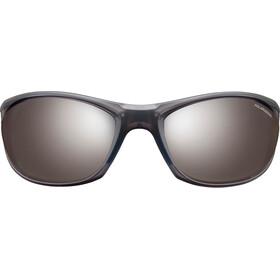 Julbo Race 2.0 Nautic Polarized 3+ Sunglasses Matt Translucent Gray/Blue-Gray Flash Silver